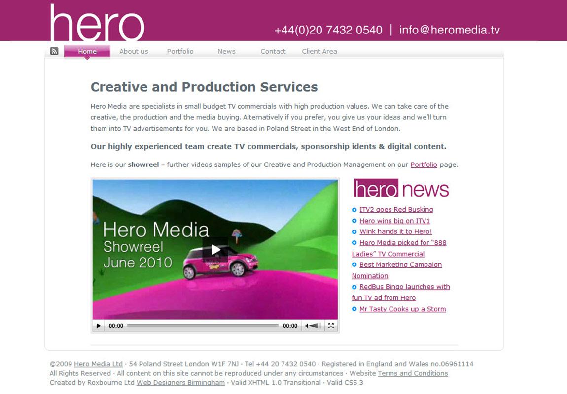 Project - Hero Media