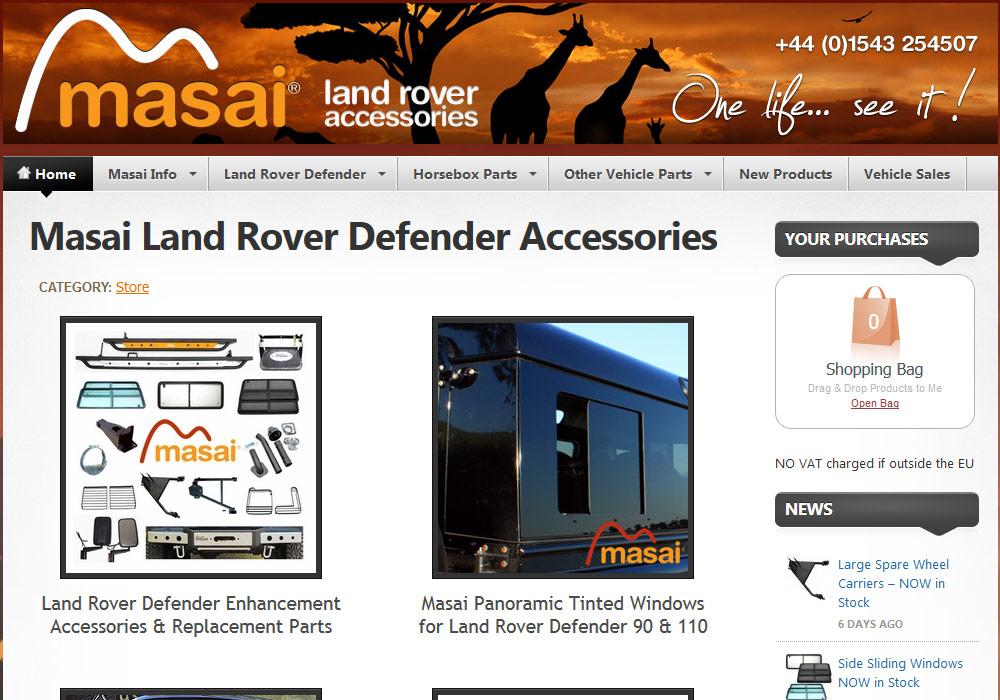 Masai Land Rover accessories