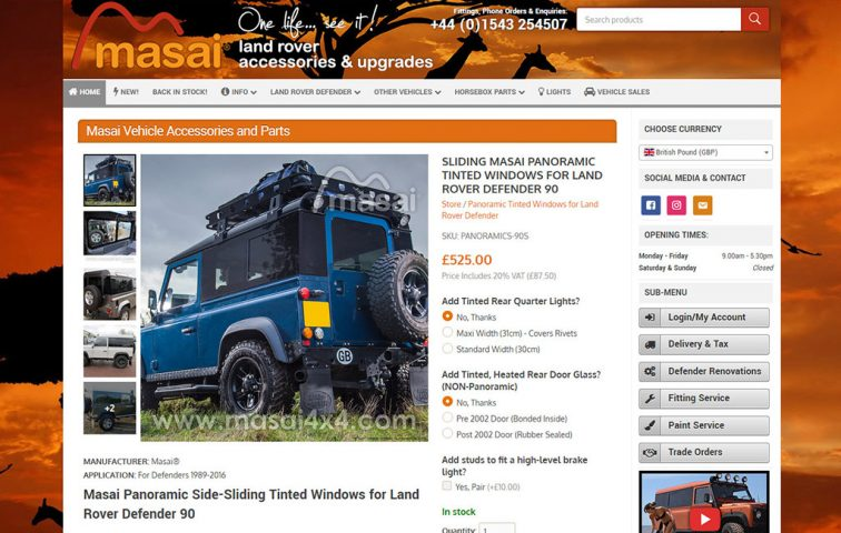 Masai Land Rover Accessories