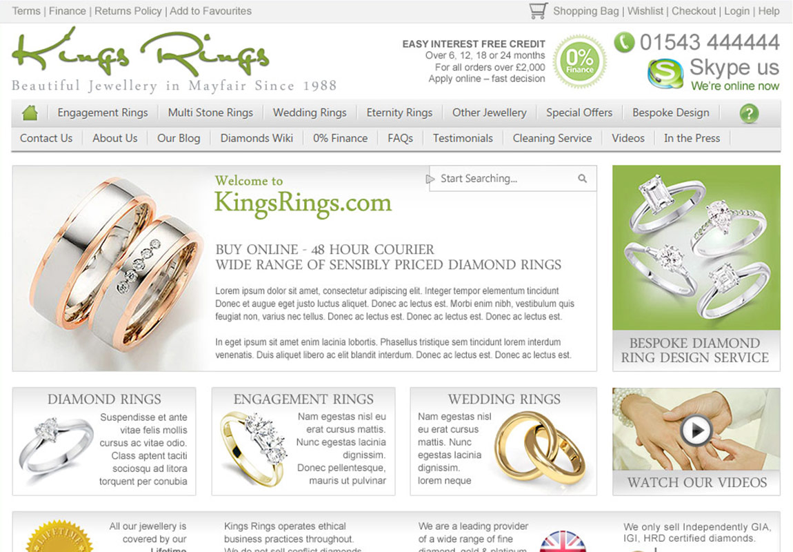 Project - Kings Rings