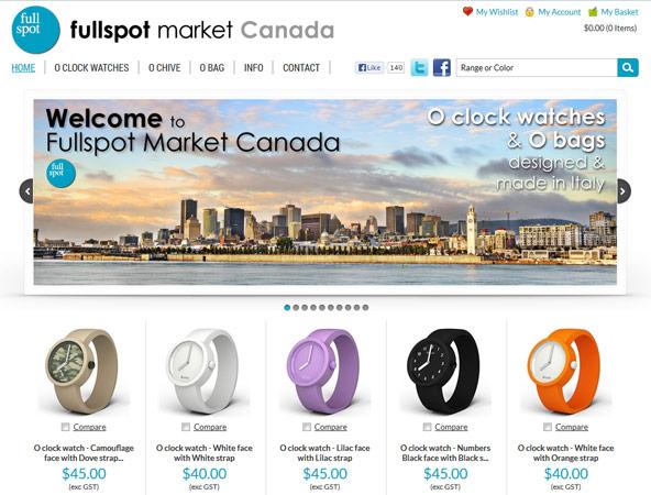 E-commerce project - Fullspot Market Canada