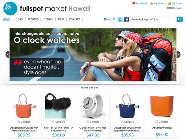 E-commerce project - Fullspot Market Hawaii