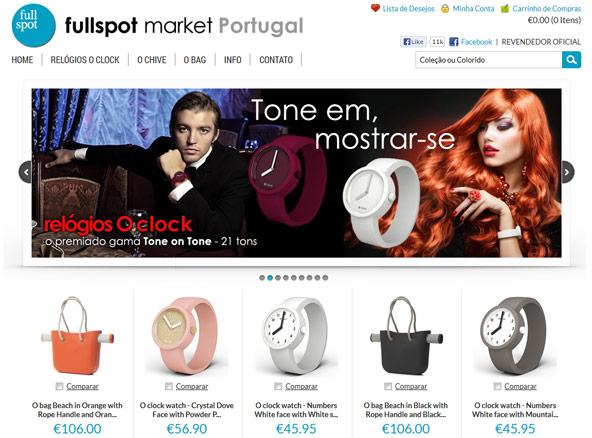 E-commerce project - Fullspot Market Portugal