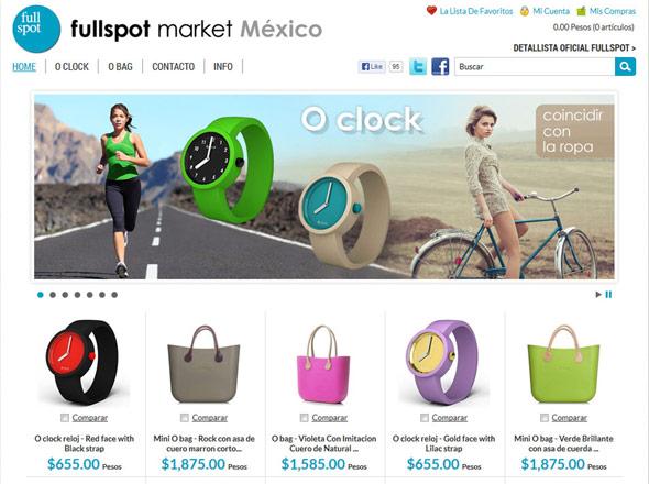 E-commerce project - Fullspot Market Mexico