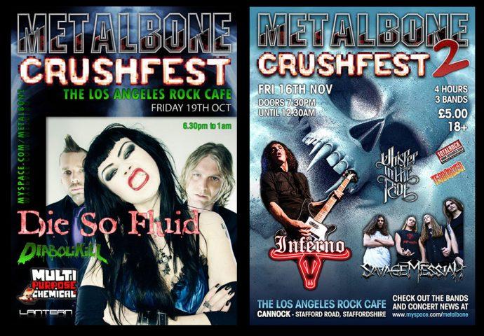 Project - Metalbone rock festivals