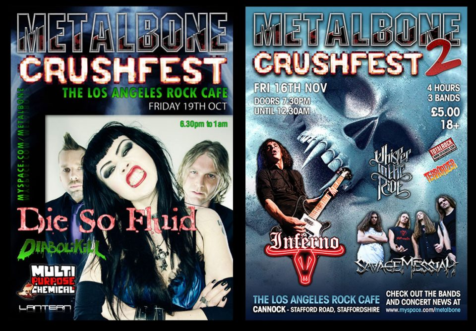 Project - Metalbone rock festivals