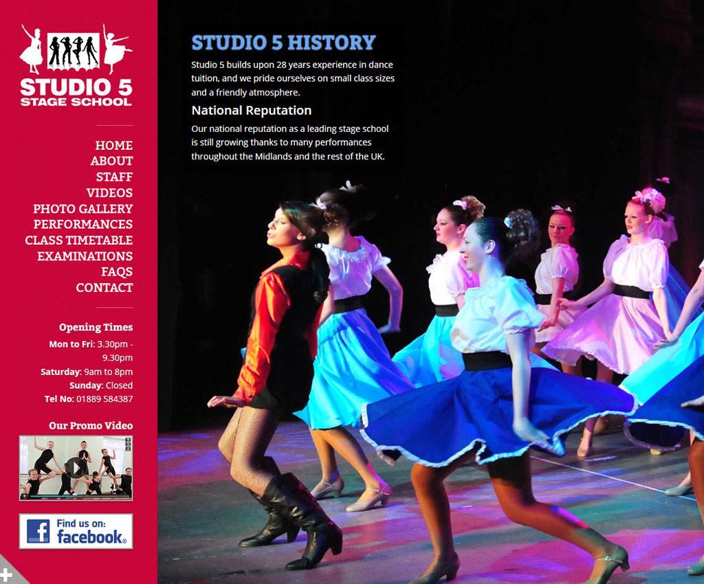 Testimonial - Studio 5 Stage School