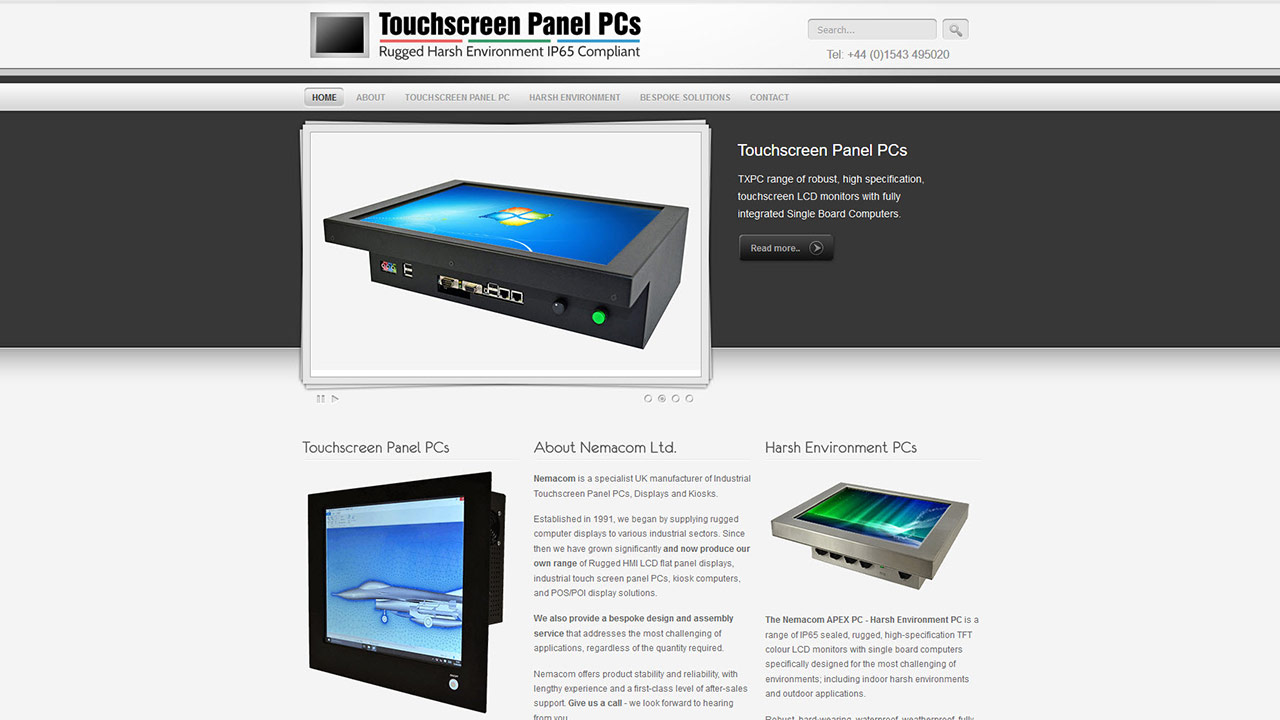 Project - Touchscreen Panel PCs